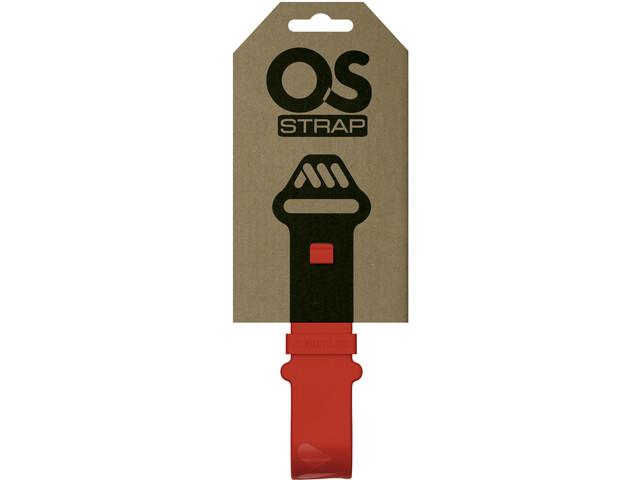 All Mountain Style Silicone OS Strap, czerwony